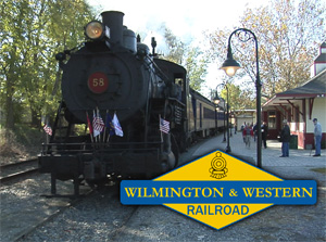 Wilmington & Western Engine 58
